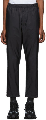 Prada Black Nylon Trousers