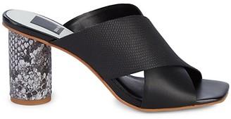 Dolce Vita Naples Embossed Heeled Sandals