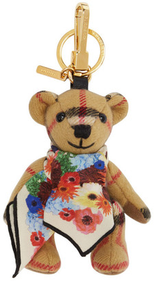 Burberry Beige Thomas Bear Keychain