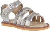 Elephantito 2C Sandal (Inf/Tod) - Silver-6 Toddler