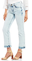Jones New York Released Hem Cropped Stretch Denim Jeans