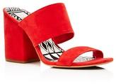 Dolce Vita Two Band Block Heel Slide Sandals
