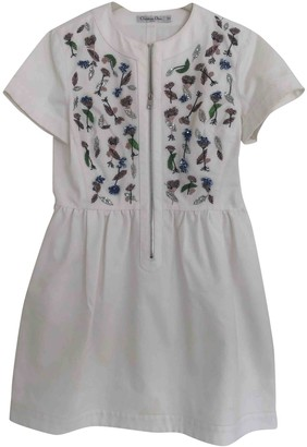 Christian Dior White Denim - Jeans Dresses