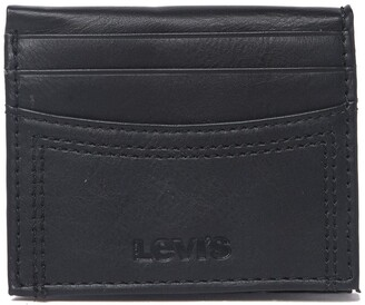 Levi's Delgado RFID Leather Bifold Wallet