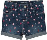 Levi's Toddler Girl Heart Print Shorty Shorts