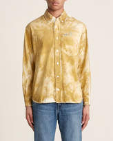 Tigran Avetisyan Button-Down Painted Corduroy Long Sleeve Sport Shirt