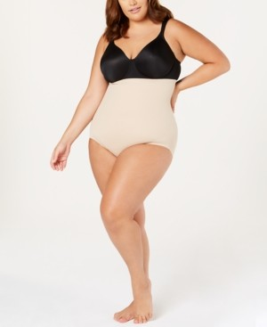 Miraclesuit Women's Plus Size Flexible Fit Extra-Firm High Waist Brief 2935