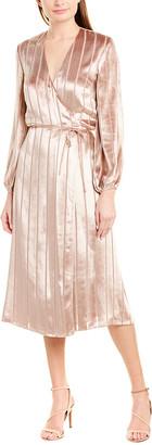 Mason by Michelle Mason Silk-Blend Wrap Dress