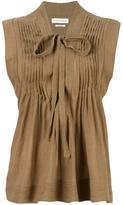 Etoile Isabel Marant Kenny blouse - women - Cotton/Viscose - 38