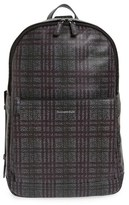 Ermenegildo Zegna Men's Leather Backpack - Grey