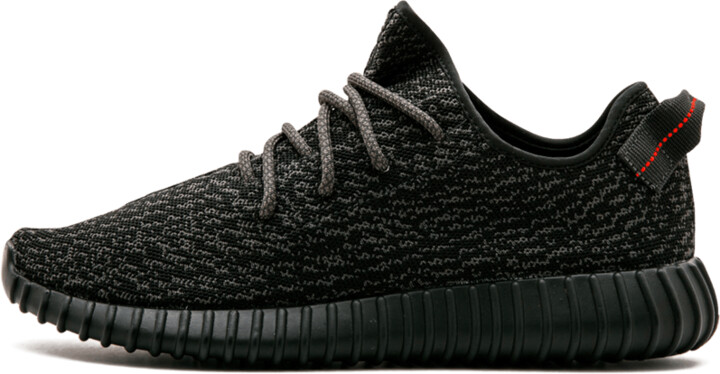 Adidas Yeezy Boost 350 'Pirate Black' Shoes - Size 10.5