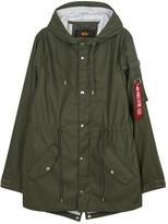 Alpha Industries Army Green Raincoat