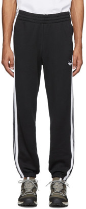adidas Black 3-Stripe Lounge Pants