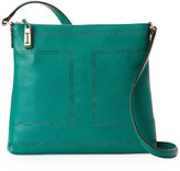 Isaac Mizrahi Jade Kay Double Perforated Crossbody