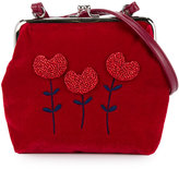Familiar tulip embroidered shoulder bag - kids - Polyester - One Size