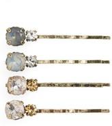 Tasha 4-Pack Crystal Bobby Pins