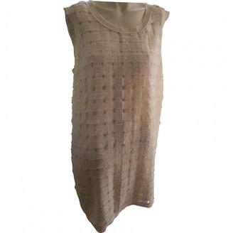 Gat Rimon Ecru Polyester Dresses