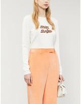 Bella Freud She Said cotton-blend jumper