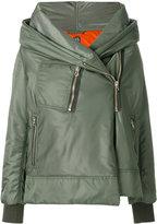 Bacon side zip jacket