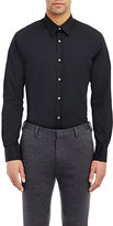 Paul Smith Exclusive Men's Poplin Dress Shirt-BLACK