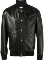 Givenchy star logo bomber jacket
