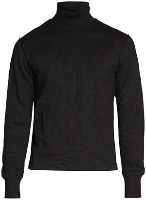 Balenciaga Crinkle Turtleneck Sweater