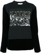 Sacai Liife sweatshirt - women - Cotton/Cupro/Rayon - 2