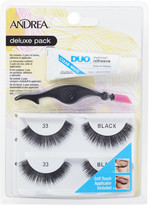 Andrea Deluxe Pack Lash #33 Black
