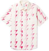 Visvim Hand Painted Cotton-blend Twill Shirt - Multi