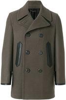 Salvatore Ferragamo Bianco coat - men - Polyester/Viscose/Cashmere/Virgin Wool - 48