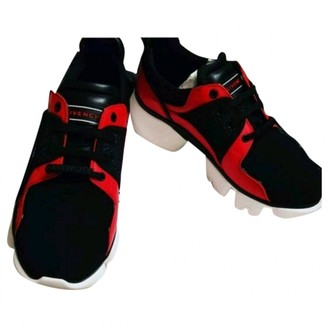 Givenchy Jaw Red Polyester Trainers