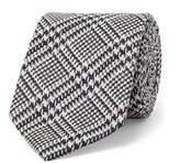 Drakes Drake's 8cm Prince Of Wales Checked Silk Tie