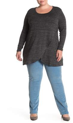 Jag Jeans Poppy Knit Tunic Top (Plus Size)