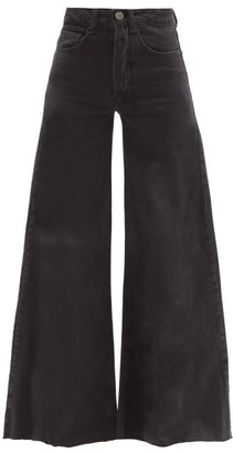 Raey Loon Wide-leg Jeans - Black