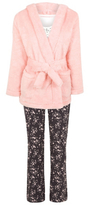 George 3 Piece Dressing Gown & Pyjama Set