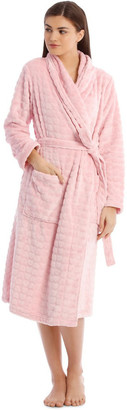 S.O.H.O New York Textured Robe in Baby Pink Baby