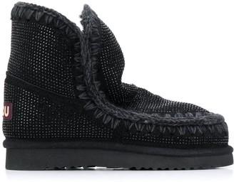 Mou Eskimo embellished boots