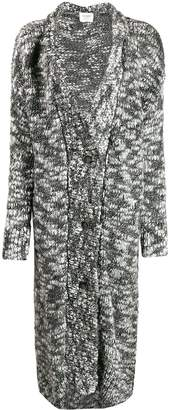 Snobby Sheep textured longline cardigan