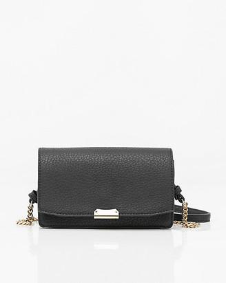 Le Château Faux Leather Crossbody Bag