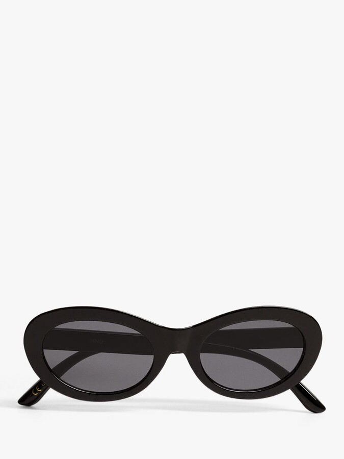 Thumbnail for your product : MANGO Women's Cat's Eye Acetate Sunglasses, Black
