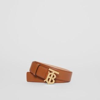 Burberry onogra otif Leather Belt