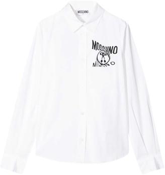 Moschino Kids Logo Print Shirt