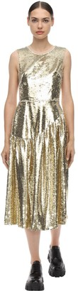 Simone Rocha Sequined Midi Dress