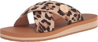 Lindsay Phillips Women's Lotus-Multi Slide Sandal 8