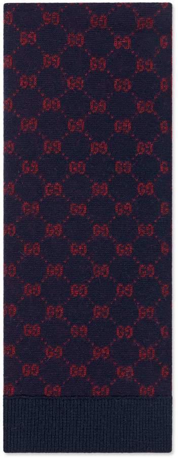 f5744851eb GG alpaca wool scarf