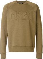 N°21 Cotton Crew-neck Sweatshirt