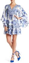 Betsey Johnson Boho Printed Dress