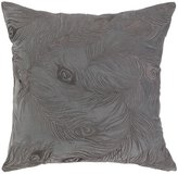 Nanette Lepore Peacock Embroidered Pillow