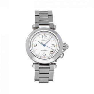 Cartier Pasha White Steel Watches