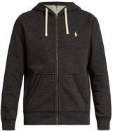 Polo Ralph Lauren Zip-up Cotton-blend Hooded Sweatshirt
